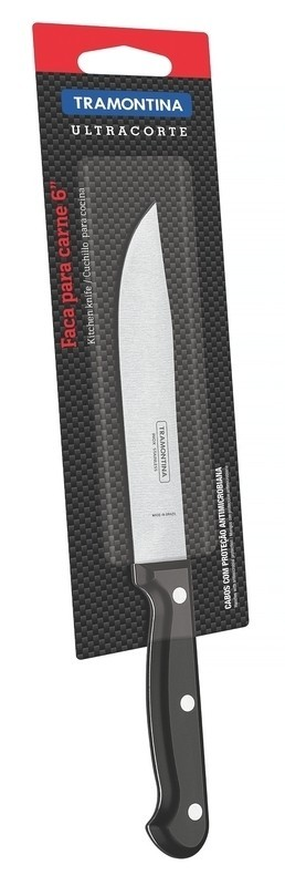 Faca Tramontina aço inox 6 ultracorte 23856/106