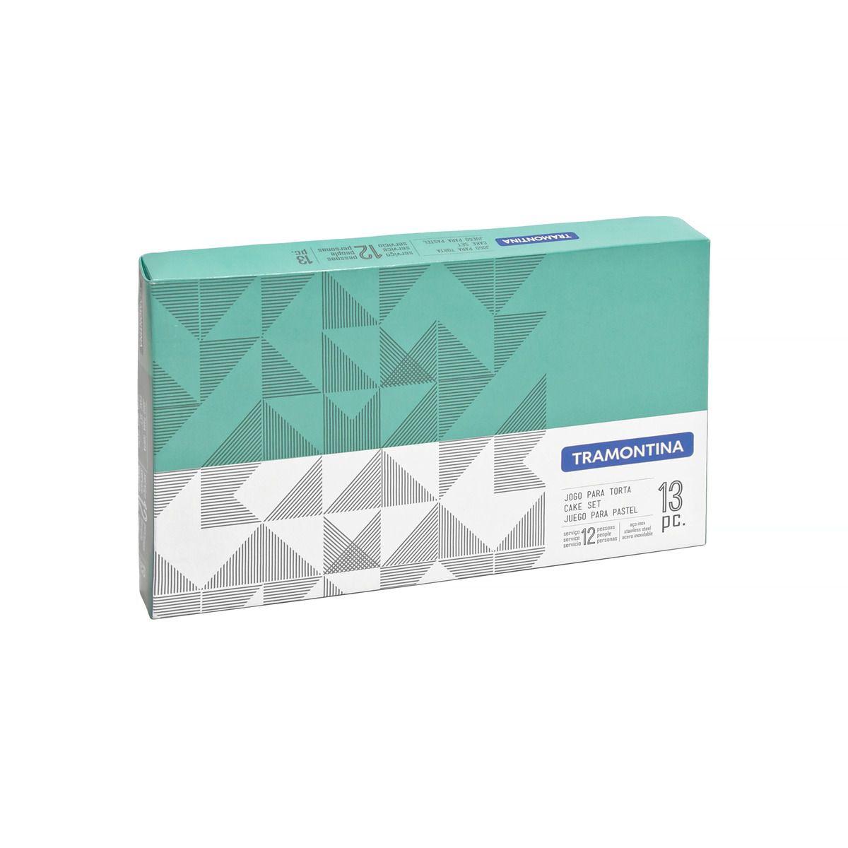 Faqueiro para Churrasco Tramontina Maresias em Aço Inox 24 Peças 66902/840 | Lojas Estrela