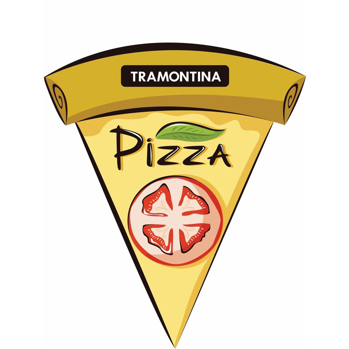 Forma para Pizza Tramontina em Aço Inox 40 cm 61731/400 | Lojas Estrela