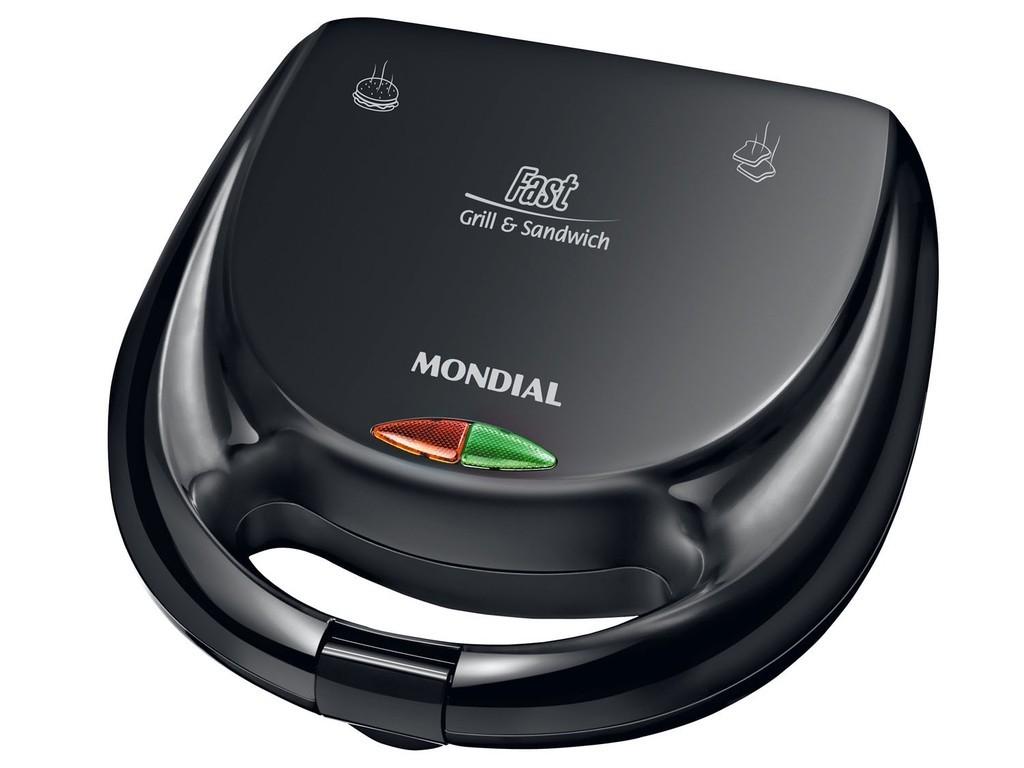 Grill e Sanduicheira 110V Mondial | Lojas Estrela