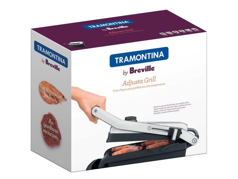 Grill e Sanduicheira 220V Tramontina Adjusta