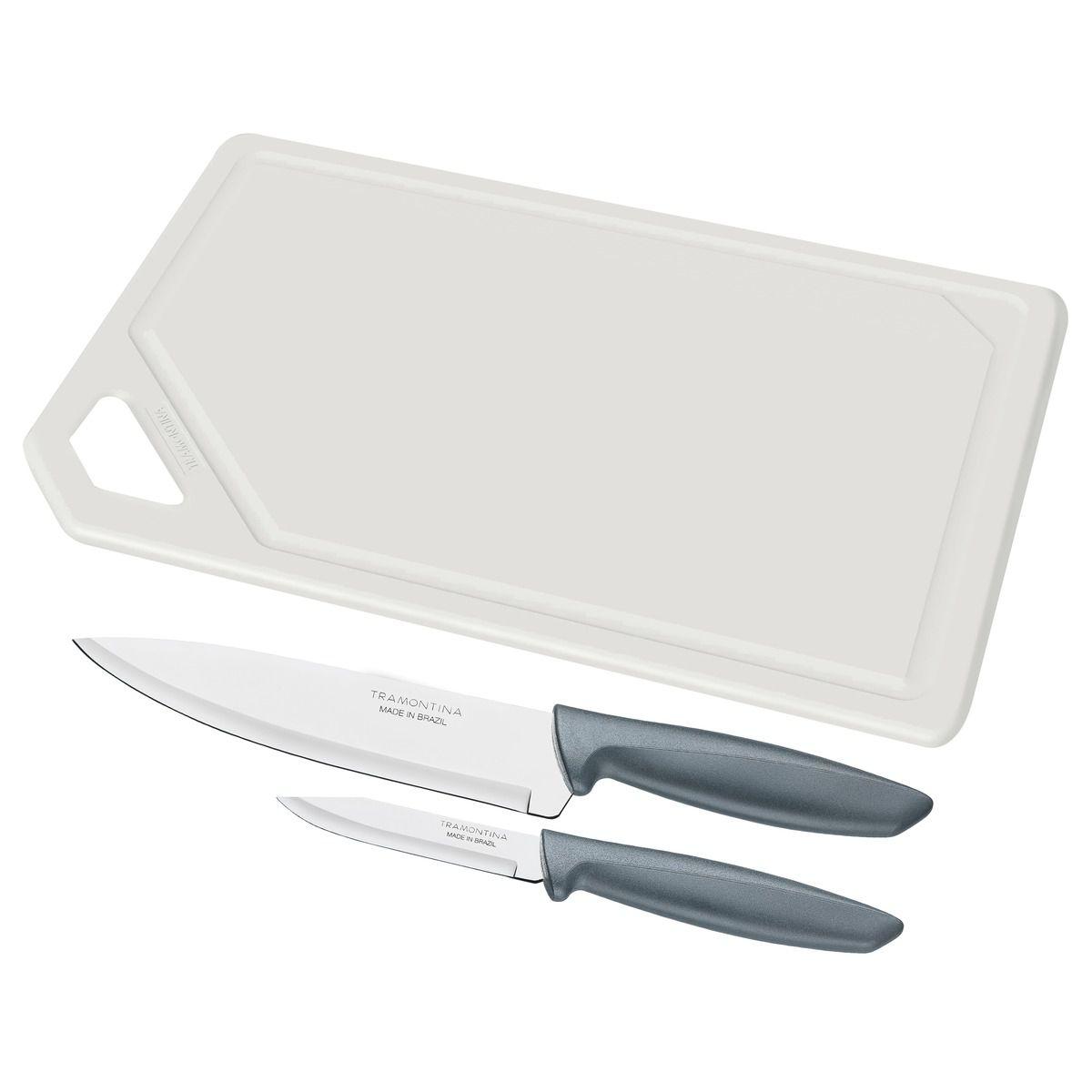 Kit para carnes e legumes 3 peças 23498/614 | Lojas Estrela
