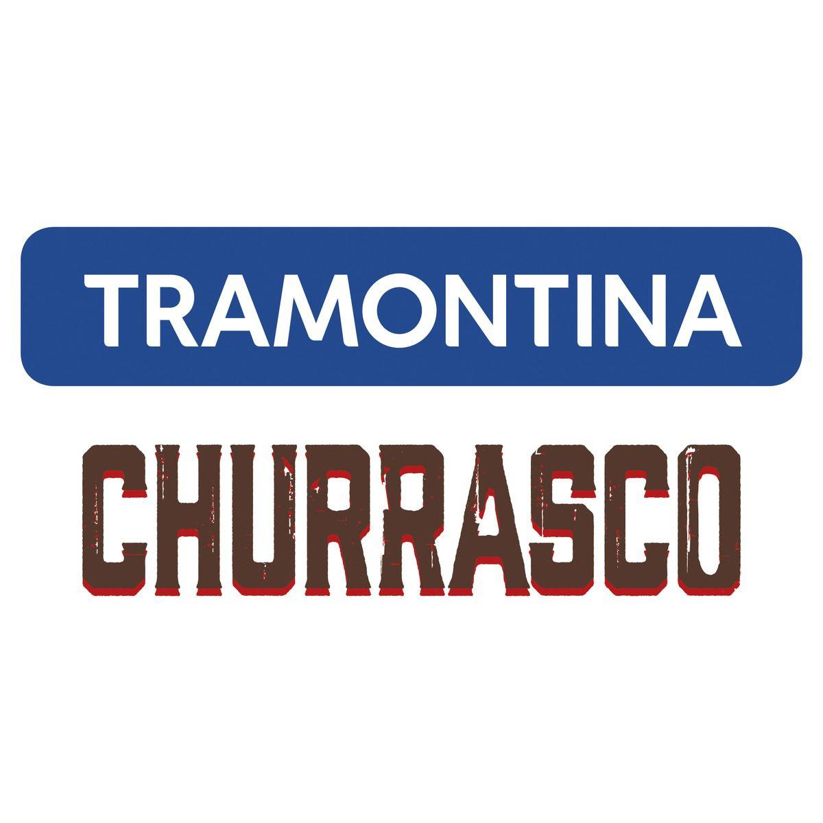 Kit para Churrasco Tramontina em Aço Inox com Cabo de Madeira Natural 15 Peças 22399/028 | Lojas Estrela