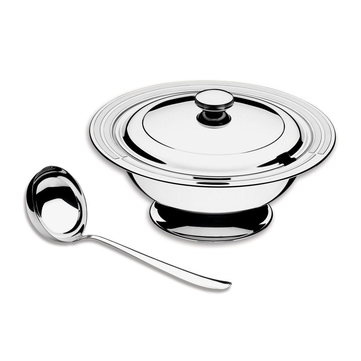 Kit para Sopa Tramontina Ciclo em Aço Inox 2 Peças 64510/310 | Lojas Estrela