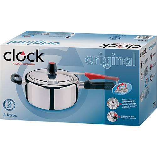 Panela de Pressão Clock 3 litros  Lojas Estrela