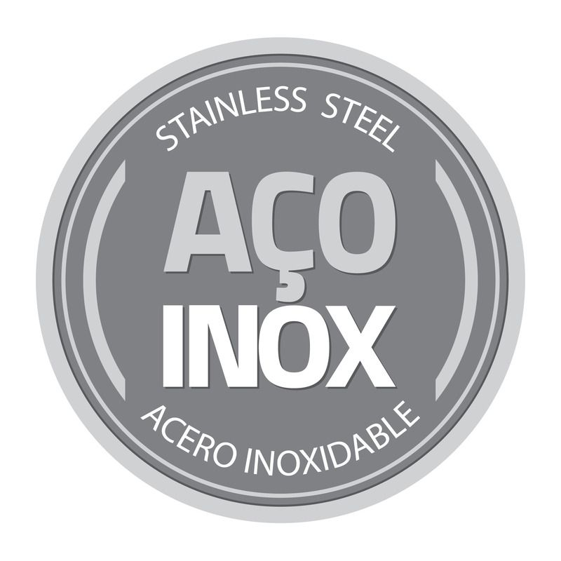 Panela Tramontina Aço Inox Com Cabo 2,9 Lts Brava 62401/200