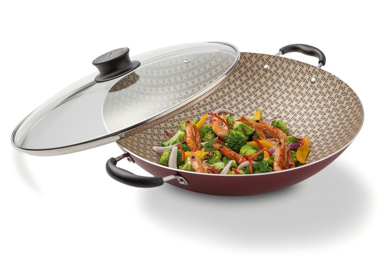 Panela wok alum 32 cm Tramontina 20545/732