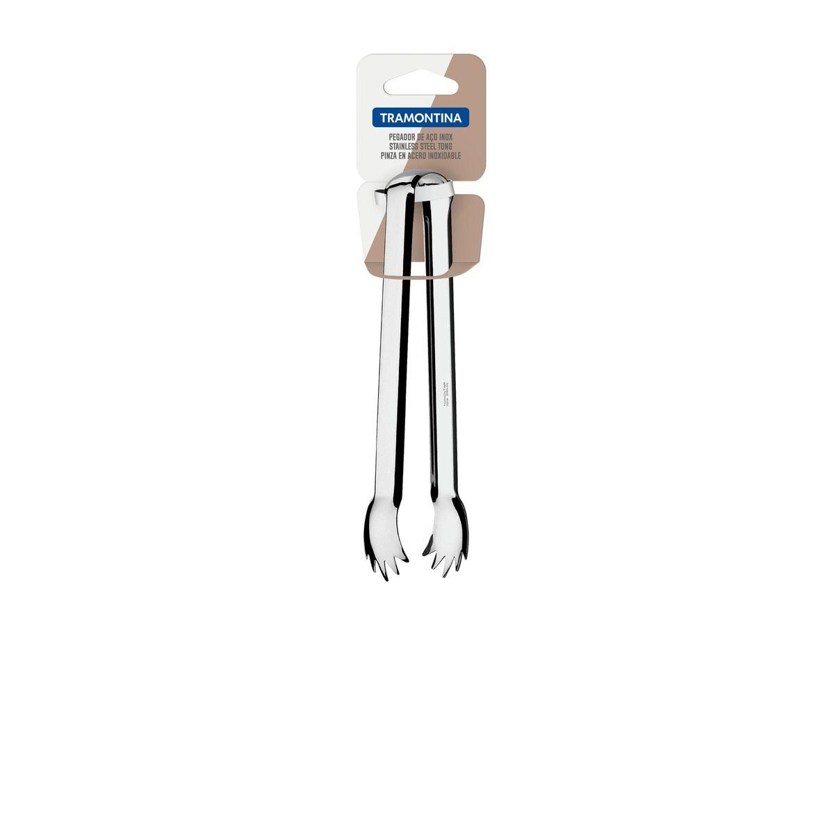 Pegador Multiúso Tramontina Utility em Aço Inox com Pontas 63800/645 | Lojas Estrela