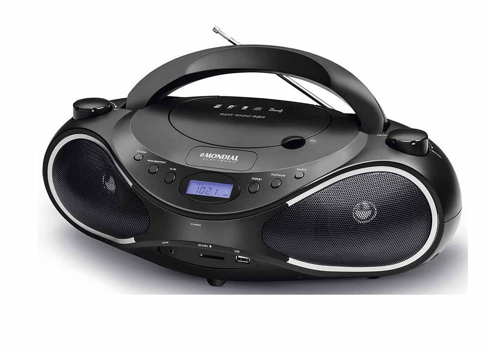 Radio Mondial Portátil Super Sound BX-16 Biv