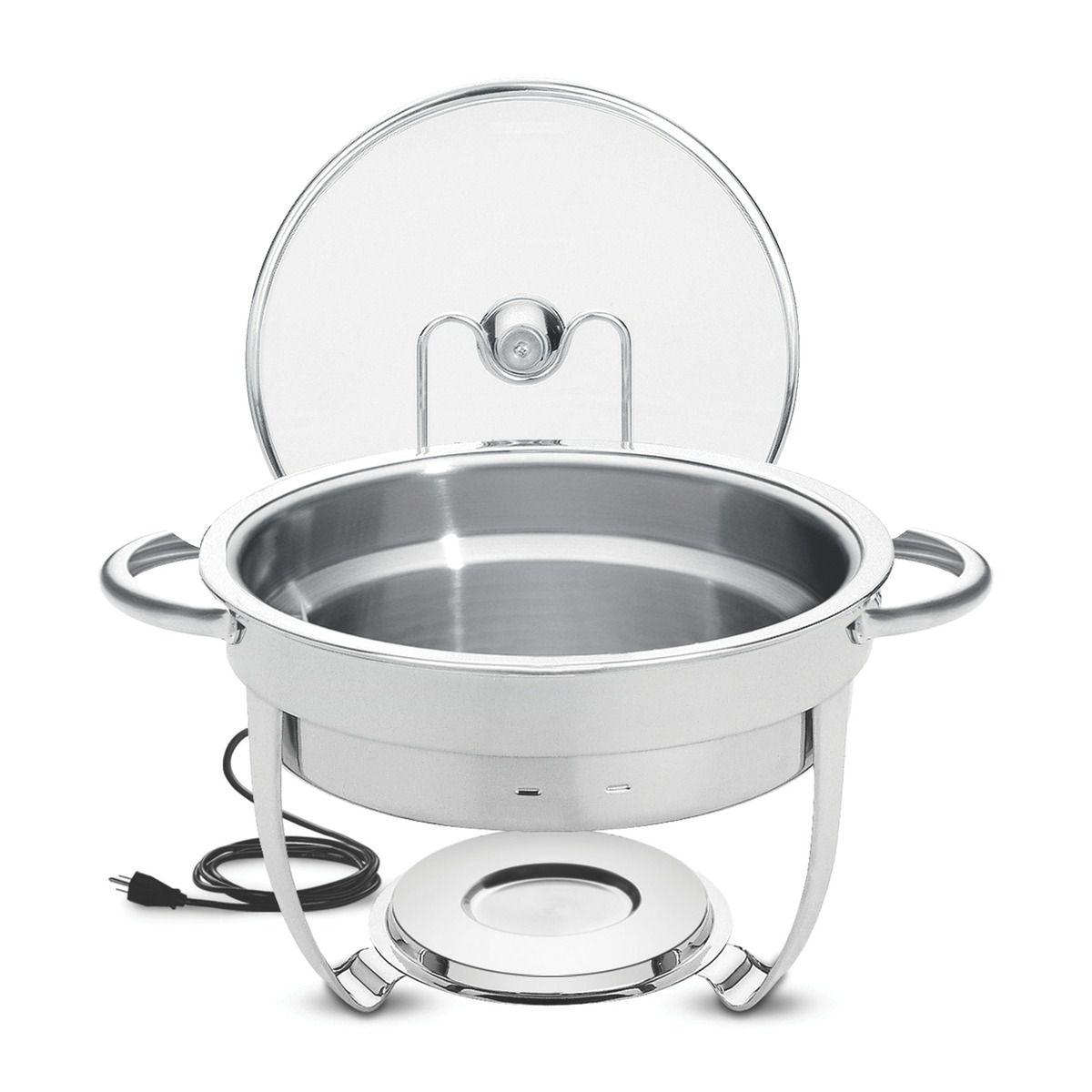 Rechaud banho-maria aço inox - 220V 61041/012   Lojas Estrela