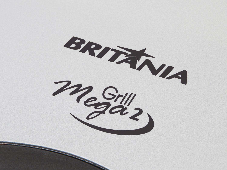 Sanduicheira Grill Britânia 110V  Mega 2