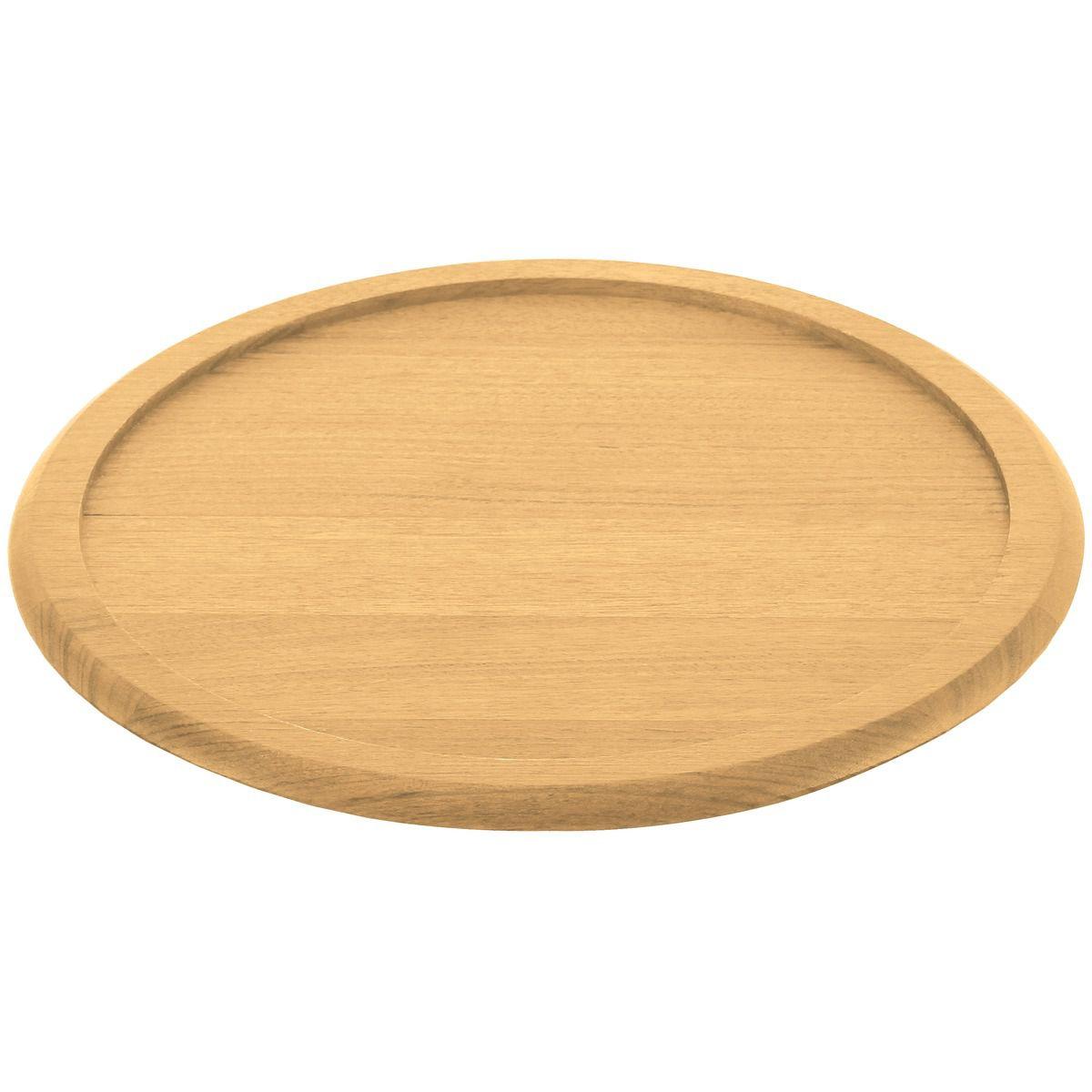 Suporte Tramontina para Forma de Pizza em Madeira Curupixá 45 cm 10095/060   Lojas Estrela