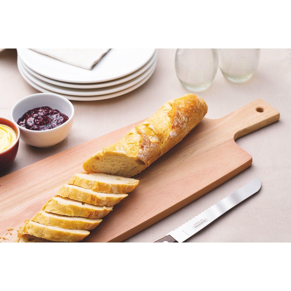Tábua Tramontina para Pão em Madeira Eucalipto com Cabo e Furo 48x19 cm 13279/292 | Lojas Estrela