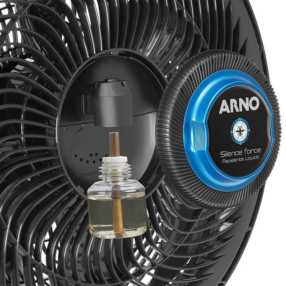 Ventilador Arno Silence Force Repelente Líquido 127v