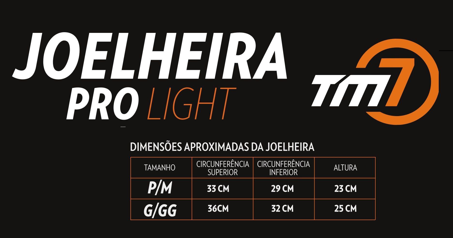JOELHEIRA PRO LIGHT AMARELA