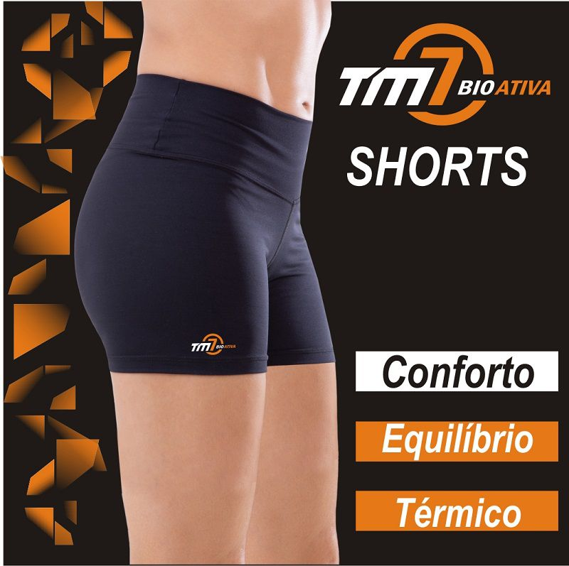 SHORTS COMPRESSIVO TM7 BIOATIVA