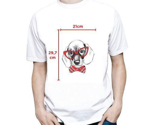10 Camisetas Masculina Estampa Média (A4)