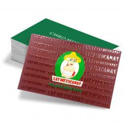 1000 Cartões de visita - Verniz Localizado 300gr