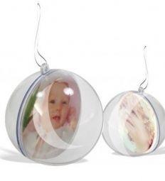 10 Bolas De Natal Personalizada