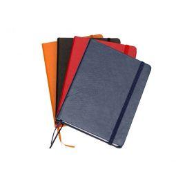 Caderneta Moleskine De Courino Com Pauta - 18x13 cm - 50 Peças