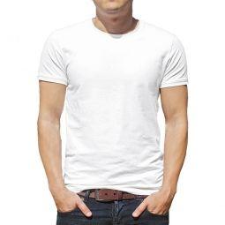 Camiseta Branca Para Sublimação - 100% Poliéster