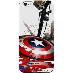 Capa De Celular Iphone (Todos Modelos) Capitão América