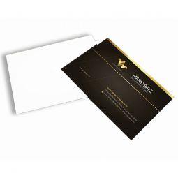 Cento cartão - impressão laser digital 220gr- frente