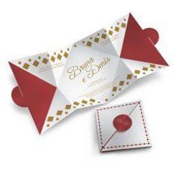 Convite Casamento - 100 unid - Especial 03