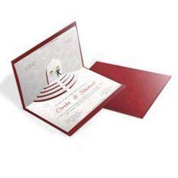 Convite Casamento - 100 unid - Especial 04