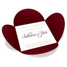 Convite Casamento - 100 unid - Especial 07