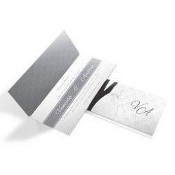 Convite Casamento - 100 unid - Moderno 07