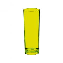 Copo Long Drink - Amarelo Translúcido