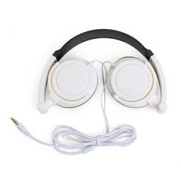 Fone De Ouvido Articulavel Com Auricular Branca