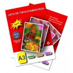 Impressão A3 PB - na Impressora Laser Color - Papel 75/90gr