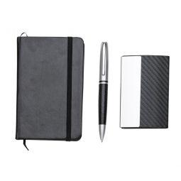 Kit Executivo Com Caneta Moleskine + Porta Cartão