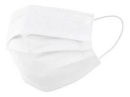 Máscara de Proteção  Branca- - 300 Unidades