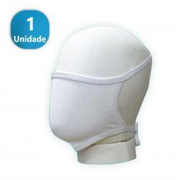 Máscara de Proteção Convencional Branca- - 1 Unidade