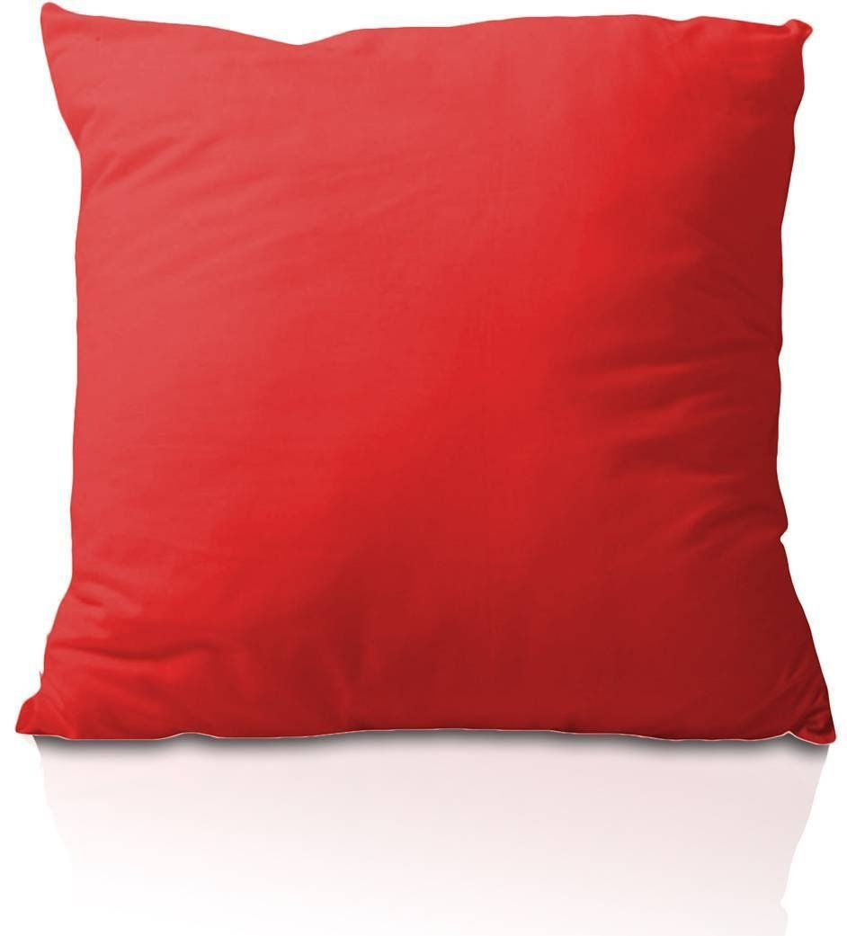 Almofada 45x45cm com enchimento - vermelha