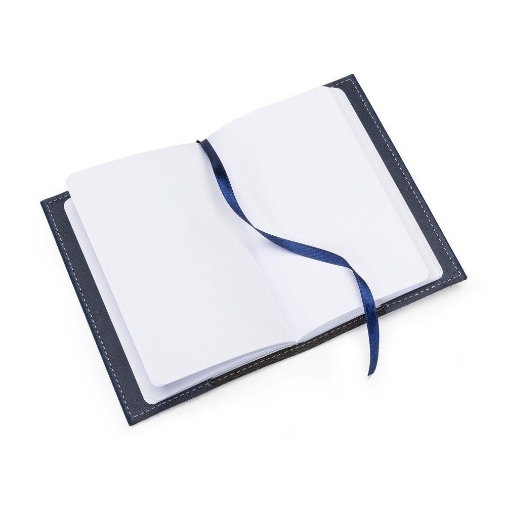 Bloco De Anotações Bidins Moleskine Folha Branca