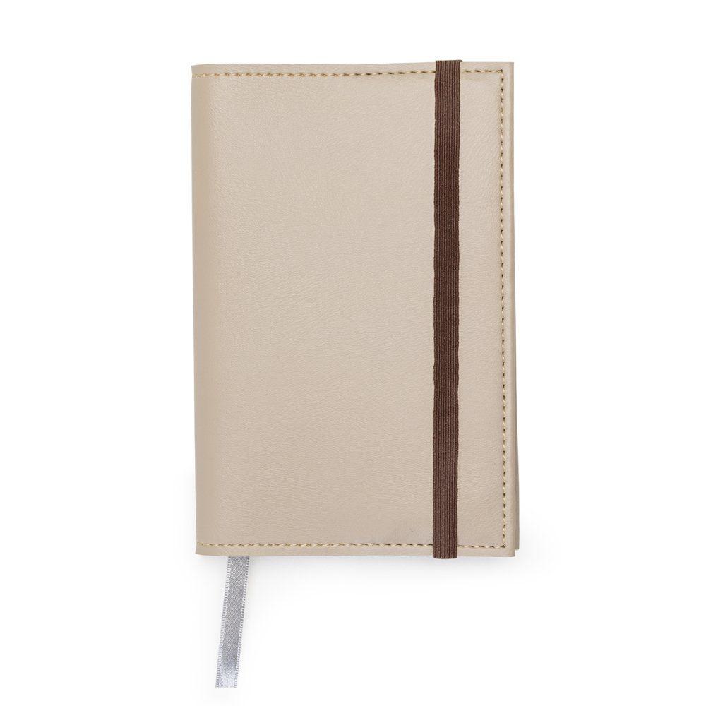 Bloco De Anotações Bidins Moleskine Folha Branca - 15,3x10 cm