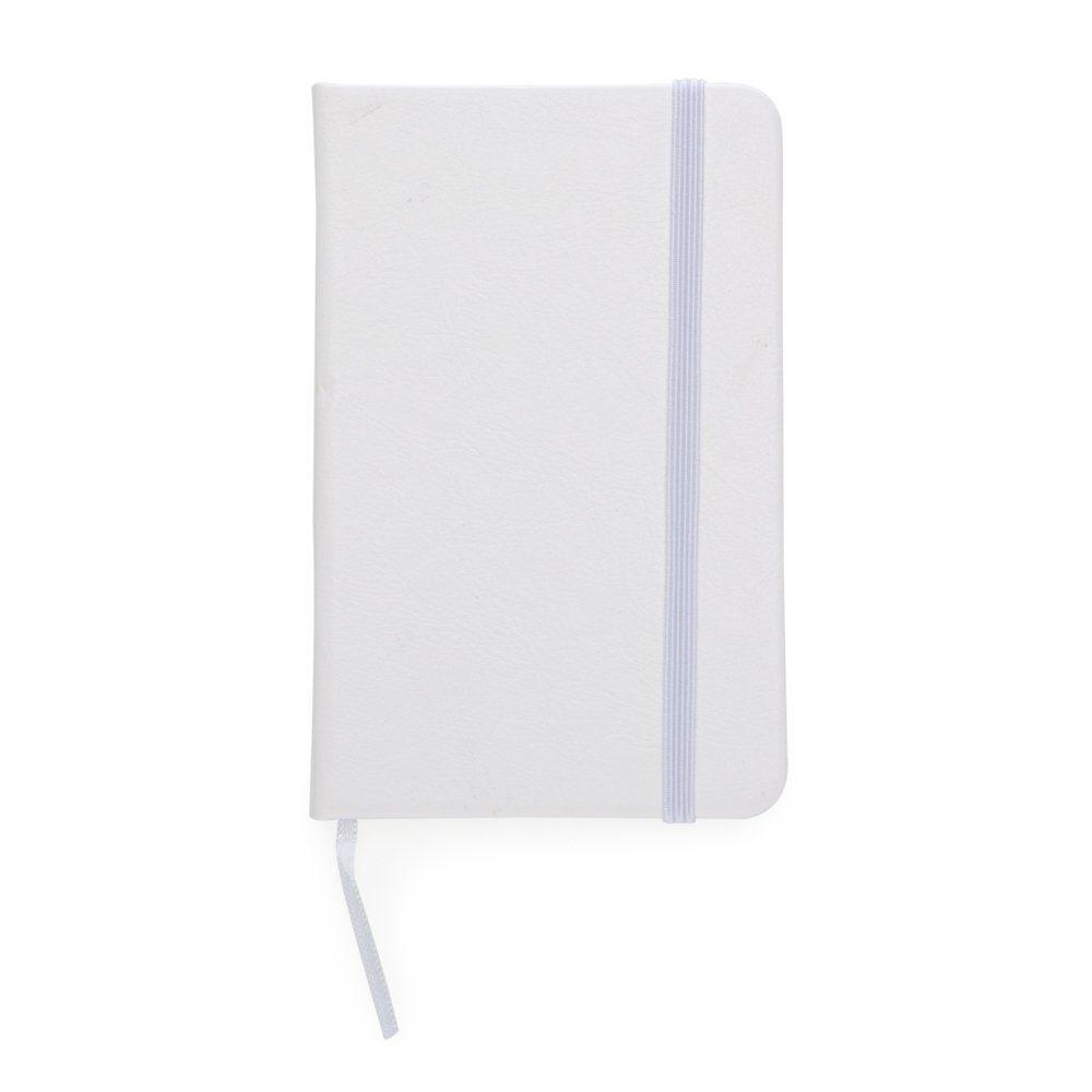 Caderneta Moleskine De Couro Sintético Com Pauta - 14,4x8,8 cm