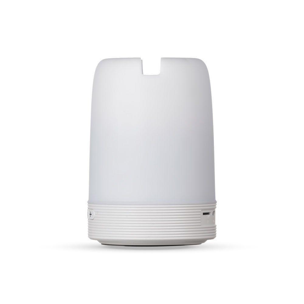 Caixa de Som Multimídia com Porta Caneta e Luminária