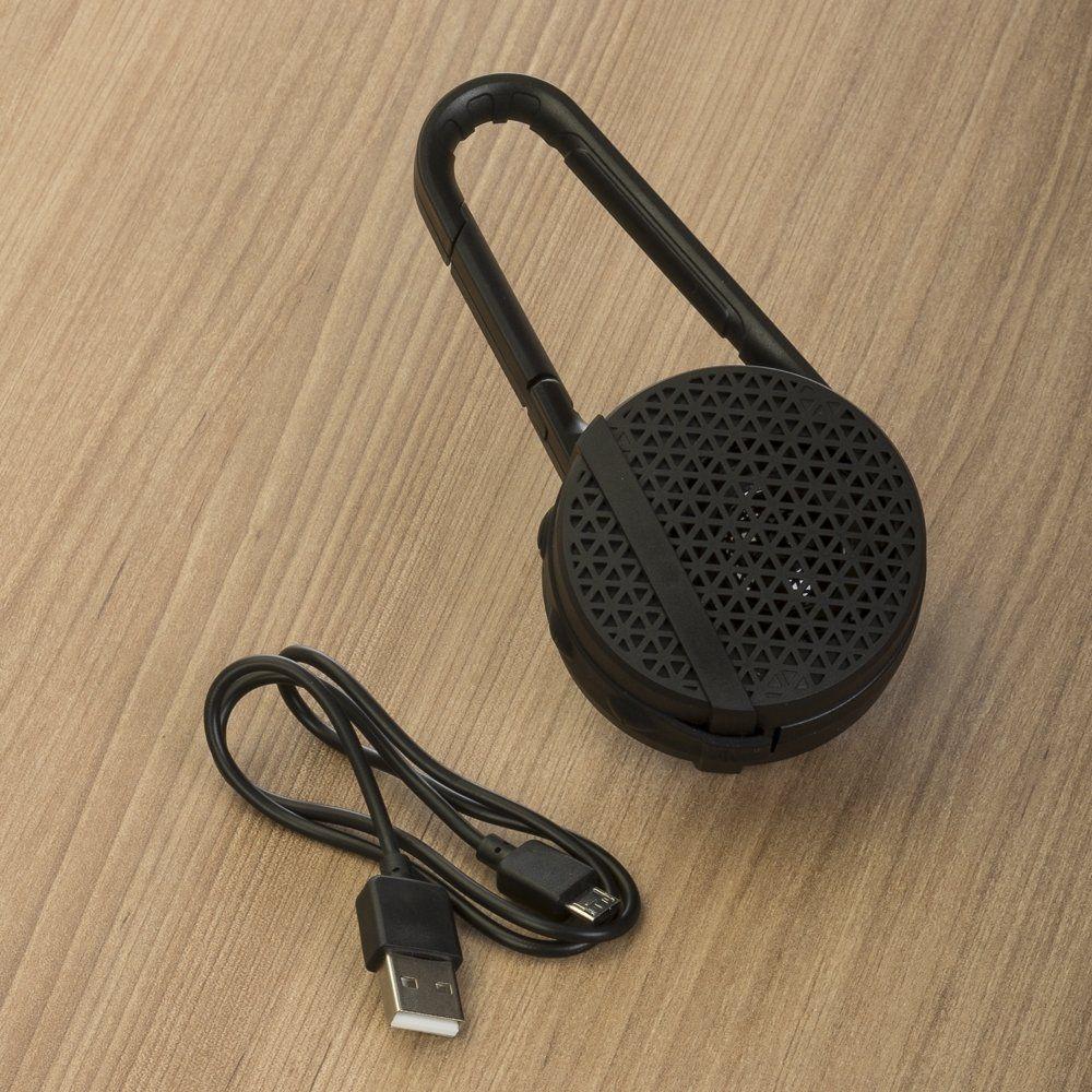 Caixinha De Som Bluetooth Com Mosquetão