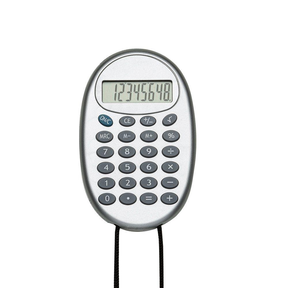 Calculadora Oval Com Cordão