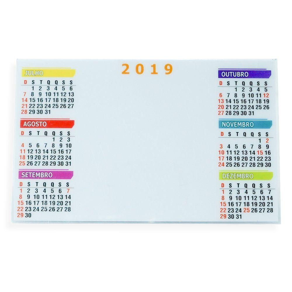 Calendario Plástico De Mesa