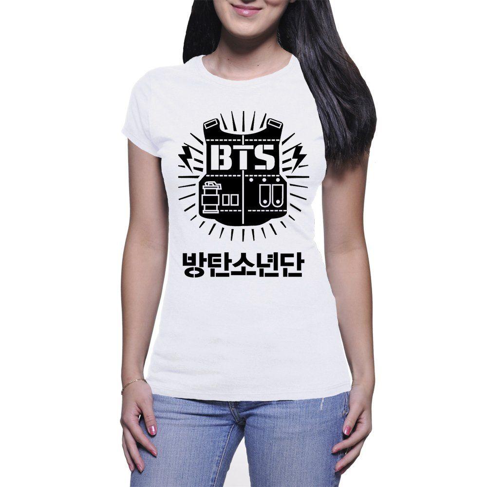 Camiseta Feminina BTS