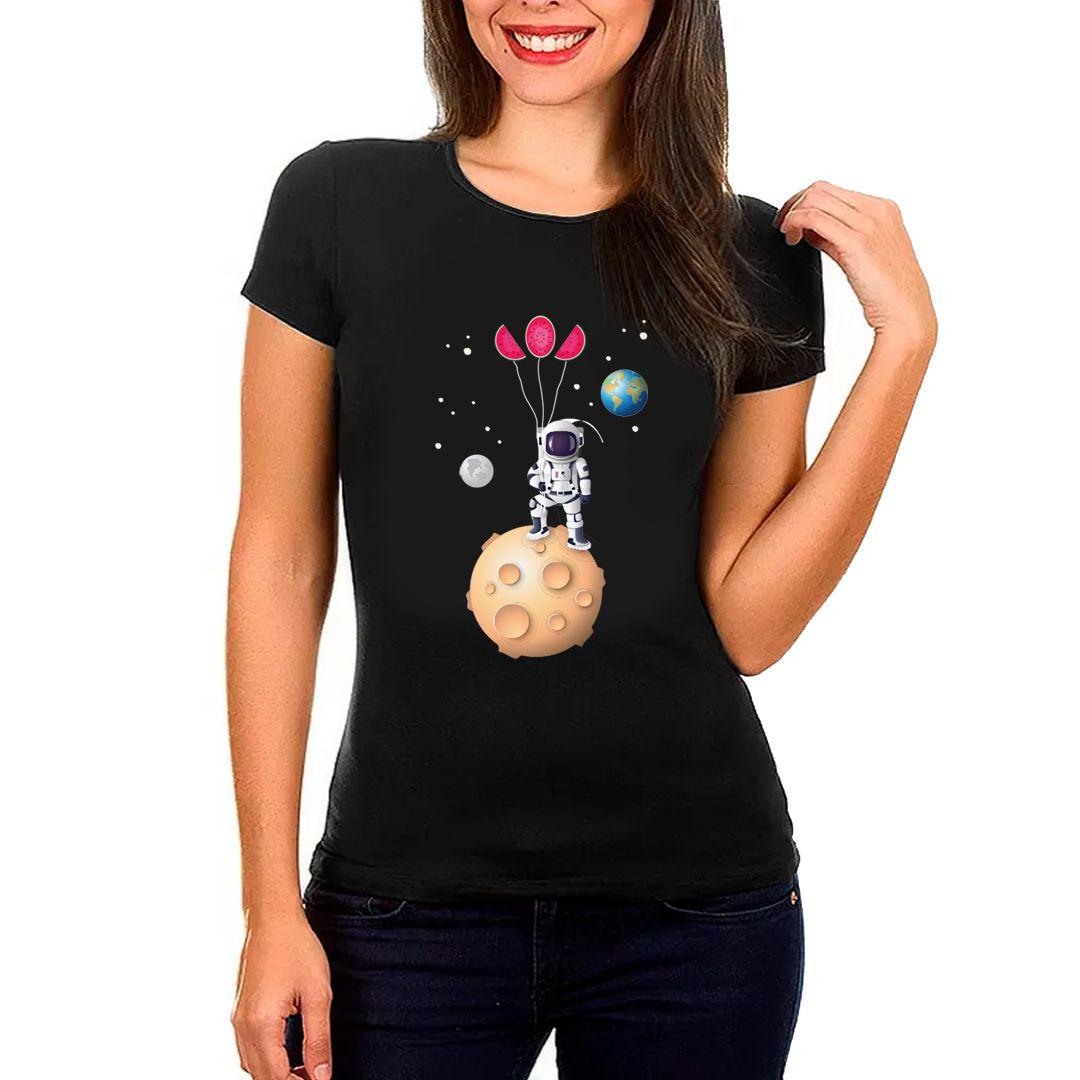 Camiseta Feminina- Pouso na Melancia- WM
