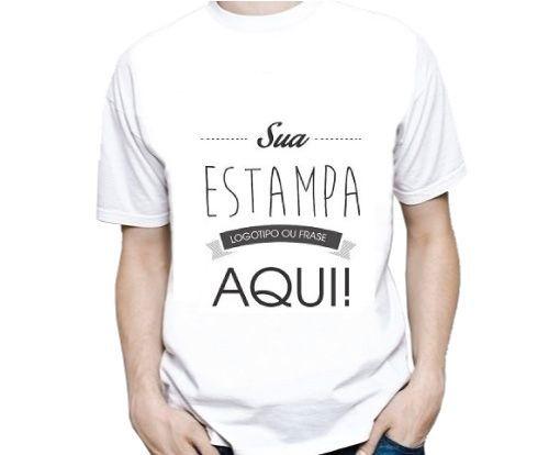 3a26e2c66 Camiseta Masculina Personalizada Estampa Grande (A3) - Teck Prints ...