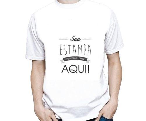 Camiseta Masculina Estampa Média (A4)