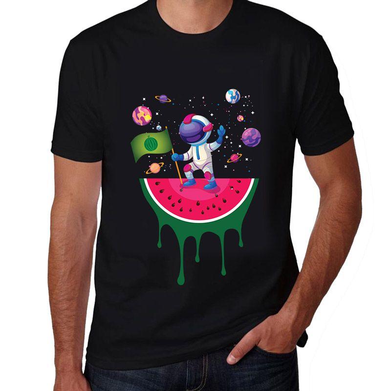 Camiseta Masculina- Pouso na Melon- WM